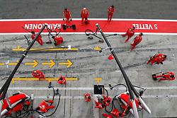 September 1, 2017 - Monza, Italy - Motorsports: FIA Formula One World Championship 2017, Grand Prix of Italy, .mechanic of Scuderia Ferrari  (Credit Image: © Hoch Zwei via ZUMA Wire)