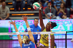 30-04-2016 ITA: Nordmeccanica Piacenza - Imoco Volley Conegliano, Piacenza<br /> Final play-offs, Piacenza brengt de stand terug naar 2-1 / Megan Hodge<br /> <br /> ***NETHERLANDS ONLY***