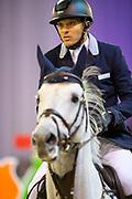 Jose Maria Larocca - Cornet Du Lys<br /> Indoor Brabant 2017<br /> © DigiShots