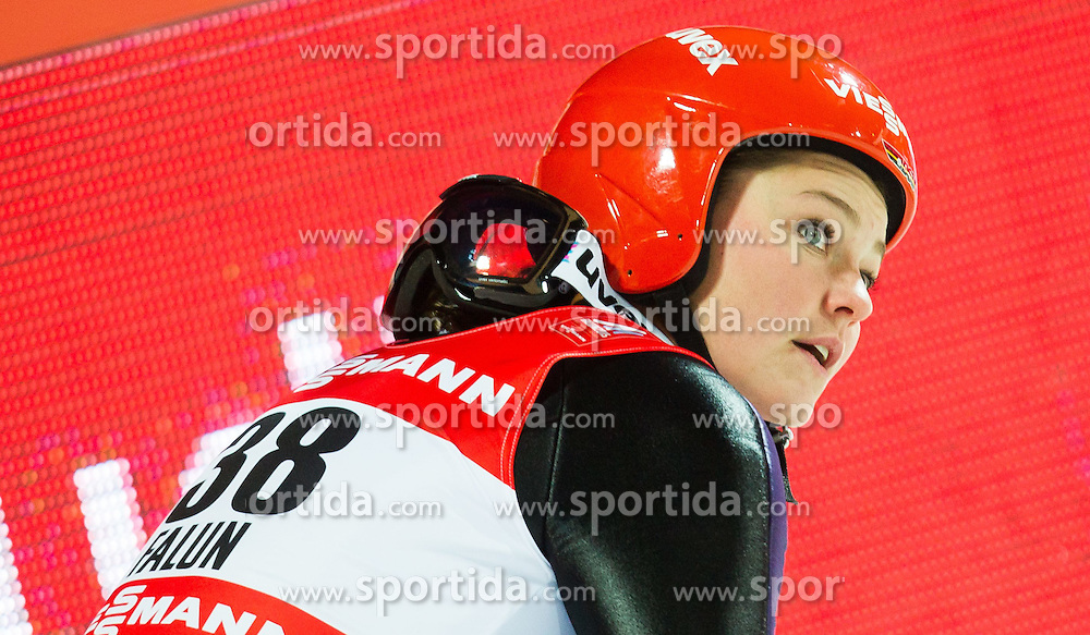 20.02.2015, Lugnet Ski Stadium, Falun, SWE, FIS Weltmeisterschaften Ski Nordisch, Skisprung, Damen, Finale, im Bild Carina Vogt (GER) // during the Ladies Skijumping Final of the FIS Nordic Ski World Championships 2015 at the Lugnet Ski Stadium, Falun, Sweden on 2015/02/20. EXPA Pictures © 2015, PhotoCredit: EXPA/ JFK