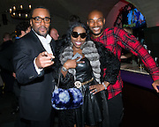 NEW YORK - DECEMBER 8:  Lee Daniels, Foxy Brown and Tyson Beckford attend an exclusive screening of the new FOX show 'Empire' at the Bryant Park Hotel on December 8, 2014 in New York City. (Photo by Ben Hider/PictureGroup)