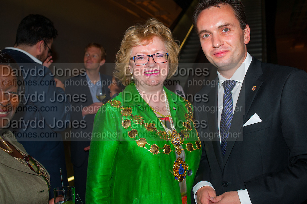 ANGELA HARVEY; LORD MAYOR OF WESTMINSTER; STIAN BERGER ROSHAN; THE ACTING GOVERNOR MAYOR OF OSLO, Edvard Munch, the Modern Eye. Tate Modern, 26 June 2012.