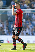 Southampton midfielder James Ward-Prowse (16) during the Premier League match between Brighton and Hove Albion and Southampton at the American Express Community Stadium, Brighton and Hove, England on 30 March 2019.