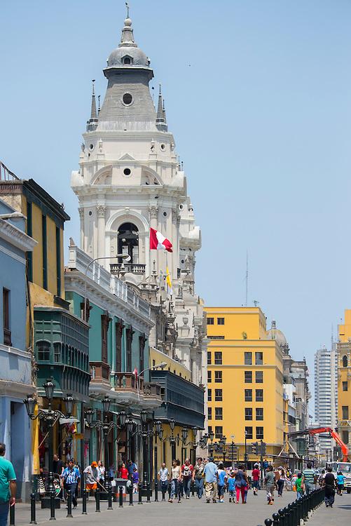 South America, Peru, Lima,Centro