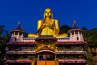 Giant Buddha statue, Golden Temple, Dambulla