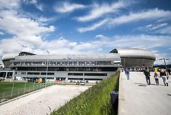 18.05.2014, Woerthersee Stadion, Klagenfurt, AUT, OeFB Samsung Cup, FC Red Bull Salzburg vs SKN St. Poelten, Finale, im Bild Aussenansicht des Wörthersee Stadion // Overview of the Stadium during the mens OeFB Samsung Cup final match between FC Red Bull Salzburg vs SKN St. Poelten at the Woerthersee Stadium, Klagenfurt, Austria on 2014/05/18. EXPA Pictures © 2014, PhotoCredit: EXPA/ Johann Groder