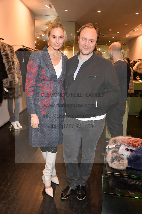 PRINCESS ELISABETH THURN & TAXIS and NICHOLAS KIRKWOOD at a preview of the Hockley Autumn -Winter 2013/2014 Collection at Hockley, 20 Conduit Street, London on 26th November 2013.