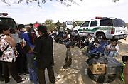 Illegal Immigration, Sells, Arizona, on the Tohono O'odham Nation, USA.