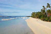 Philippines, archipel des Visayas, île de Bohol, Panglao, plage de Alona.  // Philippines, Visayas islands, Bohol island, panglao, Alona beach.