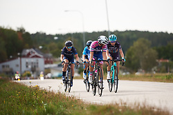 Maria Giulia Confalonieri (ITA) leads the break at Ladies Tour of Norway 2018 Stage 3. A 154 km road race from Svinesund to Halden, Norway on August 19, 2018. Photo by Sean Robinson/velofocus.com