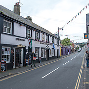 A street in Beaumaris on the island of Anglesey of the north coast of Wales, UK.