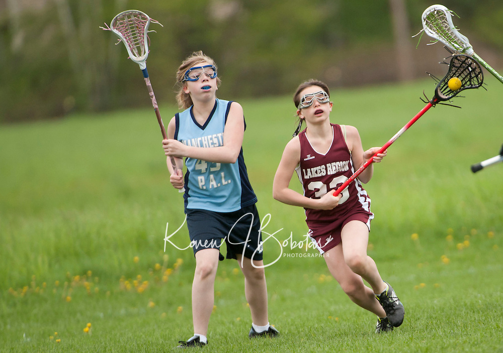 Lakes Region Lacrosse U13 girls versus Manchester  May 21, 2011.