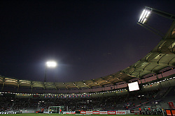 A general view of Stade Municipal. Toulouse v Trabzonspor, Europa Cup, Second Leg, Stade Municipal, Toulouse, France, 27th August 2009.