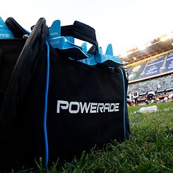 DURBAN, SOUTH AFRICA - JUNE 30:General views of Powerade during the Super Rugby match between Cell C Sharks and Emirates Lions and at Jonsson Kings Park Stadium on June 30, 2018 in Johannesburg, South Africa. (Photo by Gallo Images)