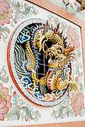 Vietnamese temple in Kanchanaburi Thailand, Eastern & Oriental Train