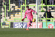 Forest Green Rovers goalkeeper Bradley Collins(1) during the EFL Sky Bet League 2 match between Forest Green Rovers and Crawley Town at the New Lawn, Forest Green, United Kingdom on 24 February 2018. Picture by Shane Healey.