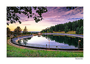 "Beautiful hand-crafted greeting cards made with the finest inks and professional matte paper.  All cards feature images of Mount Tabor Park, printed on Epson's Signature Worthy 100% cotton rag fine art paper.  Cards are standard size 5"" x 7"" and include mailing envelope.  Since each card is a fine art professional print, they can be mounted behind a standard matte with 5"" x 7"" opening and framed."