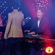 NLD/Hilversum/20190201- TVOH 2019 1e liveshow, Ali B. filmt Jeroen Rietbergen