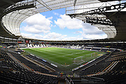 Hull City KC Stadium before the Sky Bet Championship match between Hull City and Leeds United at the KC Stadium, Kingston upon Hull, England on 23 April 2016. Photo by Ian Lyall.