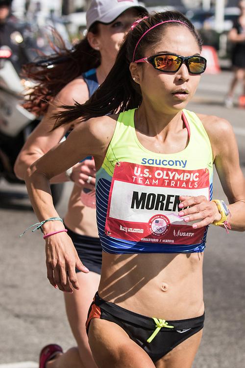 USA Olympic Team Trials Marathon 2016, Moreno, Saucony