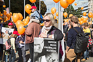 Protest against compulsory vaccination