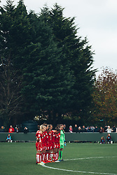 Minutes Silence - Rogan Thomson/JMP - 06/11/2016 - FOOTBALL - The Northcourt Stadium - Abingdon-on-Thames, England - Oxford United Women v Bristol City Women - FA Women's Super League 2.