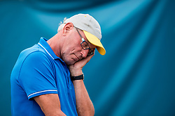20-07-2018 NED: CEV DELA Beach Volleyball European Championship day 6<br /> Sometimes is it hard....Joop Keizer