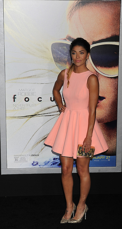 Jessica Szohr, Warner Bros Pictures presents the Los Angeles World Premiere of 'Focus', at the TCL Chinese Theatre, February 24, 2015 - Hollywood, California. EXPA Pictures &copy; 2015, PhotoCredit: EXPA/ Photoshot/ Celebrity Photo<br /> <br /> *****ATTENTION - for AUT, SLO, CRO, SRB, BIH, MAZ only*****
