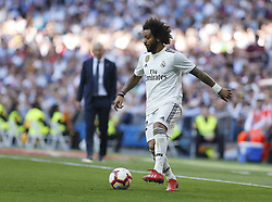 March 16, 2019 - Madrid, Madrid, Spain - Real Madrid CF's Marcelo Vieira seen in action during the Spanish La Liga match round 28 between Real Madrid and RC Celta Vigo at the Santiago Bernabeu Stadium in Madrid. (Credit Image: © Manu Reino/SOPA Images via ZUMA Wire)