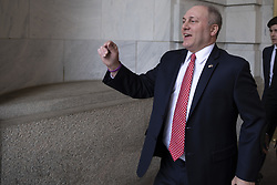 United States House of Representatives Minority Whip Steve Scalise, Republican of Louisiana, leaves the Longworth House Office Building following a press conference after the conclusion of the House Republican Caucus leadership elections on Capitol Hill in Washington, DC, USA on November 14, 2018. Photo by Alex Edelman/CNP/ABACAPRESS.COM