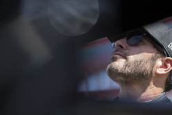 April 13, 2018 - Bristol, Tennessee, United States of America - April 13, 2018 - Bristol, Tennessee, USA: Jimmie Johnson (48) gets ready to practice for the Food City 500 at Bristol Motor Speedway in Bristol, Tennessee. (Credit Image: © Stephen A. Arce/ASP via ZUMA Wire)