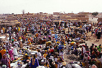 Mali-Dogon country, Sanga village market