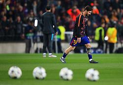 Lionel Messi of Barcelona warms up - Mandatory by-line: Matt McNulty/JMP - 14/03/2018 - FOOTBALL - Camp Nou - Barcelona, Catalonia - Barcelona v Chelsea - UEFA Champions League - Round of 16 Second Leg