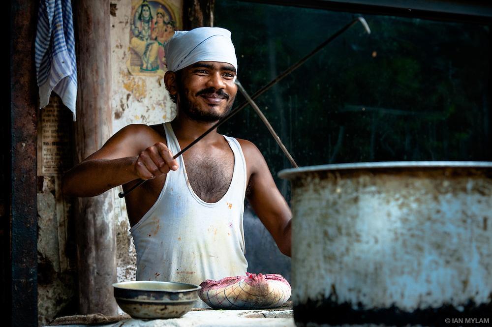 Street Food Vendor - Old Delhi, India