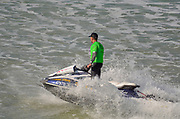 Jetski in action
