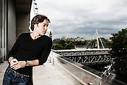 PORTRAITS of  Canadian singer Rufus Wainwright  at the Royal Festival Hall in London on Tuesday July 08, 2014.<br />