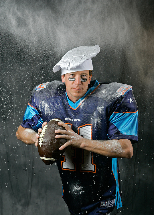 Executive Chef Sean Brasel, co-owner of Touch Catering,  and his army of cooks, prep, cook and freeze for Touch Catering feeding 5,000 people over three days leading to the NFL Super Bowl.