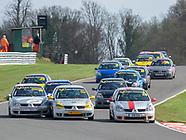 K-Tec Racing Clio 182 - Oulton Park - 14th April 2018