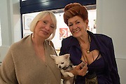 JANE BRYANT; LADY SANDRA BATES, Lady  Sandra Bates and Jason Bradbury host 'Lust' a mixed exhibition. La Galleria. Pall Mall.  London 3 September 2013.