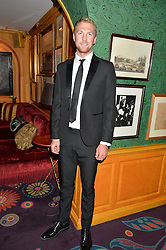 Double Olympic Gold medal winning rower ALEX GREGORY at a dinner to celebrate the 125th anniversary of the Dog's Trust held at Annabel's, Berkeley Square, London on 1st November 2016.