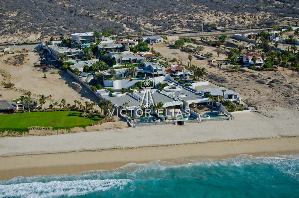 Homes by the beach. Los Cabos, Mexico.