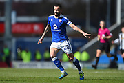 Chesterfield midfielder Robbie Weir (28) during the EFL Sky Bet League 2 match between Chesterfield and Notts County at the b2net stadium, Chesterfield, England on 25 March 2018. Picture by Jon Hobley.