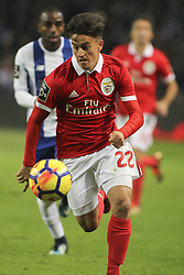 December 1, 2017 - Porto, Porto, Portugal - Benfica's Argentinian forward Franco Cervi during the Premier League 2016/17 match between FC Porto and SL Benfica, at Dragao Stadium in Porto on December 1, 2017. (Credit Image: © Dpi/NurPhoto via ZUMA Press)