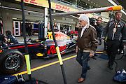 October 27, 2016: Mexican Grand Prix. Bernie Ecclestone