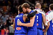 Daniel Hackett, Nicolo Melli<br /> Nazionale Italiana Maschile Senior<br /> Eurobasket 2017 - Final Phase - Round of 16<br /> Finlandia Italia Finland Italy<br /> FIP 2017<br /> Istanbul, 09/09/2017<br /> Foto M.Ceretti / Ciamillo - Castoria