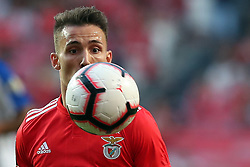October 7, 2018 - Lisbon, Portugal - Benfica's Spanish defender Alejandro Grimaldo in action during the Portuguese League football match SL Benfica vs FC Porto at the Luz stadium in Lisbon on October 7, 2018. (Credit Image: © Pedro Fiuza/ZUMA Wire)