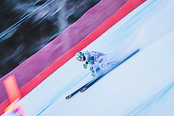 24.01.2019, Kandahar, Garmisch, GER, FIS Weltcup Ski Alpin, Abfahrt, Damen, 1. Training, im Bild Viktoria Rebensburg (GER) // Viktoria Rebensburg of Germany in action during her 1st training run for the ladie's Downhill of FIS ski alpine world cup at the Kandahar in Garmisch, Germany on 2019/01/24. EXPA Pictures © 2019, PhotoCredit: EXPA/ Dominik Angerer