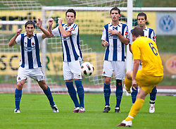 05.08.2010, Dolomitenstadion, Lienz, AUT, Friendly Match, Real Sociedad vs AEL Limassol, im Bild Borja Viguera Manzanares ( Real Sociedad, #18 ). EXPA Pictures © 2010, PhotoCredit: EXPA/ J. Groder / SPORTIDA PHOTO AGENCY