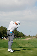 Rory McIlroy<br /> Swing sequence<br /> Abu Dhabi HSBC Championship 2018<br /> <br /> Golf Pictures Credit by: Mark Newcombe / visionsingolf.com