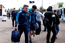 Duncan Weir of Worcester Warriors arrives at Northampton Saints - Mandatory by-line: Robbie Stephenson/JMP - 04/05/2019 - RUGBY - Franklin's Gardens - Northampton, England - Northampton Saints v Worcester Warriors - Gallagher Premiership Rugby